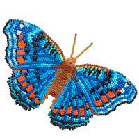 Объёмные бабочки(на пластиковой основе)