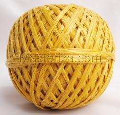 Шпагат полипропиленовый(жёлтый). (50м)