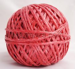 Шпагат полипропиленовый(красный). (50м)