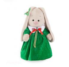 Зайка Ми в рождественском платье.