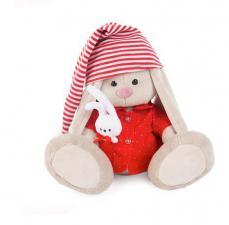 Зайка Ми в красной пижаме.