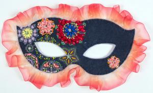 "Карнавальная маска ""Фламинго""."