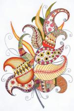 Риолис | Волшебное перо. Размер - 21 х 30 см