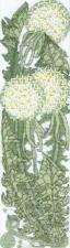 Набор для вышивания крестом Crystal Art Полевой модерн. Размер - 7 х 25 см.