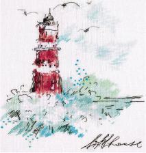 Панна | Путеводный маяк. Размер - 20 х 25 см.