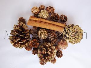 Набор декоративных украшений (золото).