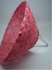 Каркас для букетов (ярко-розовый). Размер - 30 см.