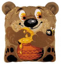 """Подушка """"Медвежонок"""". Размер - 30 х 35 см."""