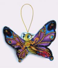 Бабочка. Размер - 11 х 8 см.