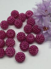Бусина Шамбала. Цвет (пурпурный).