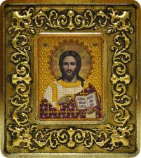 Христос Спаситель (лилии золото).