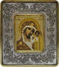 Богородица Казанская (виноград серебро).