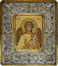 Ангел Хранитель (лилии серебро).