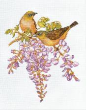 Овен | Птички-невелички.Белоглазка. Размер - 19 х 24 см.