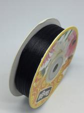 Лента атласная Skroll,3 мм,цвет№ 39 (чёрный)