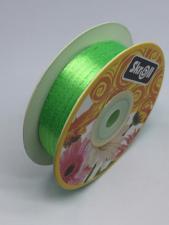 Лента атласная Skroll,3 мм,цвет№ 52 (светло-зелёный)