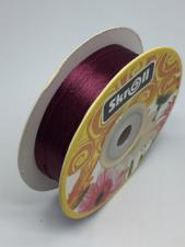 Лента атласная Skroll,3 мм,цвет№ 83 (бордо)
