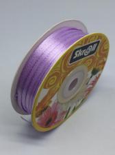 Лента атласная Skroll,3 мм,цвет№ 85 (сиреневый)