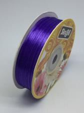 Лента атласная Skroll,3 мм,цвет№ 121 (фиолетовый)