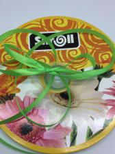 Лента атласная Skroll,6 мм,цвет№ 52 (светло-зелёный)