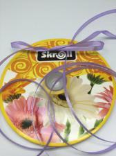 Лента атласная Skroll,6 мм,цвет№ 90 (светло-фиолетовый)