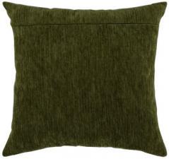 """Обратная сторона подушки """"Зелень Гинье""""."""