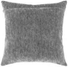 """Обратная сторона подушки """"Тёмно-серый""""."""