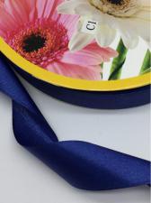 Лента атласная Skrol,25 мм,цвет№ 38 (тёмно-синий)