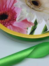 Лента атласная Skroll,25 мм,цвет№ 52 (светло-зелёный)