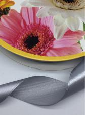 Лента атласная Skroll,25 мм,цвет№ 59 (серый)