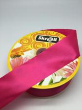 Лента атласная Skroll,50 мм,цвет№ 72 (малиновый)