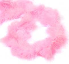 Боа (пух). Цвет-розовый