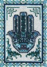 Панно-амулет. Хамса (Рука Фатимы). Размер - 13,5 х 20 см.