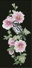 Птицы 3. Размер - 21,8 х 45,6 см.