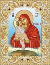 Почаевская икона БМ. Размер - 18 х 23 см.
