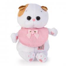 Кошечка Ли-Ли BABY в розовом слюнявчике.