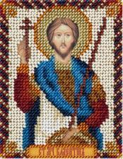 Панна | Икона Св.муч. Валентин Доростольский. Размер - 8,5 х 11 см.
