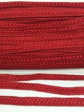 Тесьма Самоса,12 мм,цвет 148 (тёмно-красный)