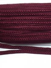 Тесьма Самоса,12 мм,цвет 178 (бордо)
