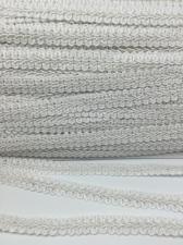 Тесьма Шанель,10 мм,цвет 101 (белый)