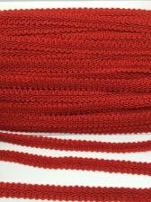 Тесьма Шанель,10 мм,цвет 162 (красный)