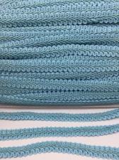 Тесьма Шанель,10 мм,цвет 185 (голубой)