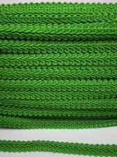 Тесьма Шанель,10 мм,цвет 239 (зелёный)