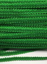 Тесьма Шанель,10 мм,цвет 243 (тёмно-зелёный)