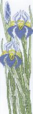 Набор для вышивания крестом Crystal Art Садовый модерн. Размер - 7 х 25 см.