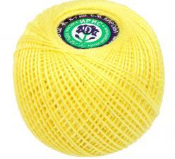 """Нитки для вязания """"Ирис"""". Цвет 0204 светло-жёлтый"""
