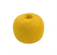 """Нитки для вязания """"Ирис"""". Цвет 0305 жёлтый"""
