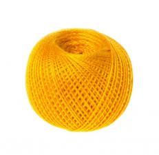 """Нитки для вязания """"Ирис"""". Цвет 0510 оранжевый"""