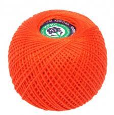 """Нитки для вязания """"Ирис"""". Цвет 0712 алый"""