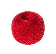 """Нитки для вязания """"Ирис"""". Цвет 0904 тёмно-малиновый"""